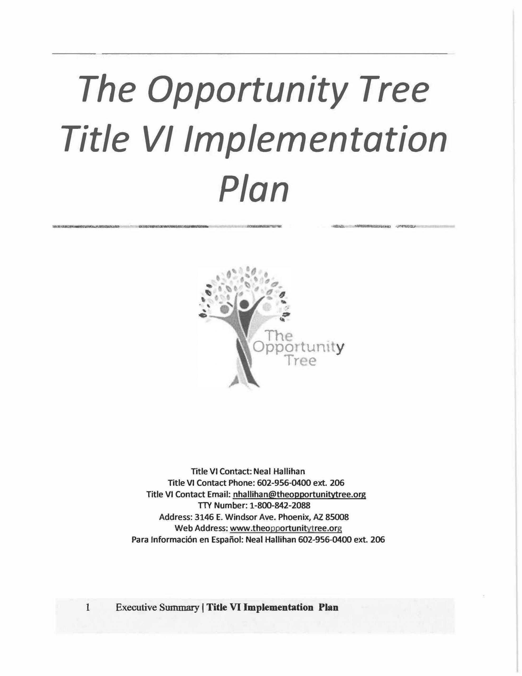 The Opportunity Tree Title VI Plan Final2018-2021_Page_01
