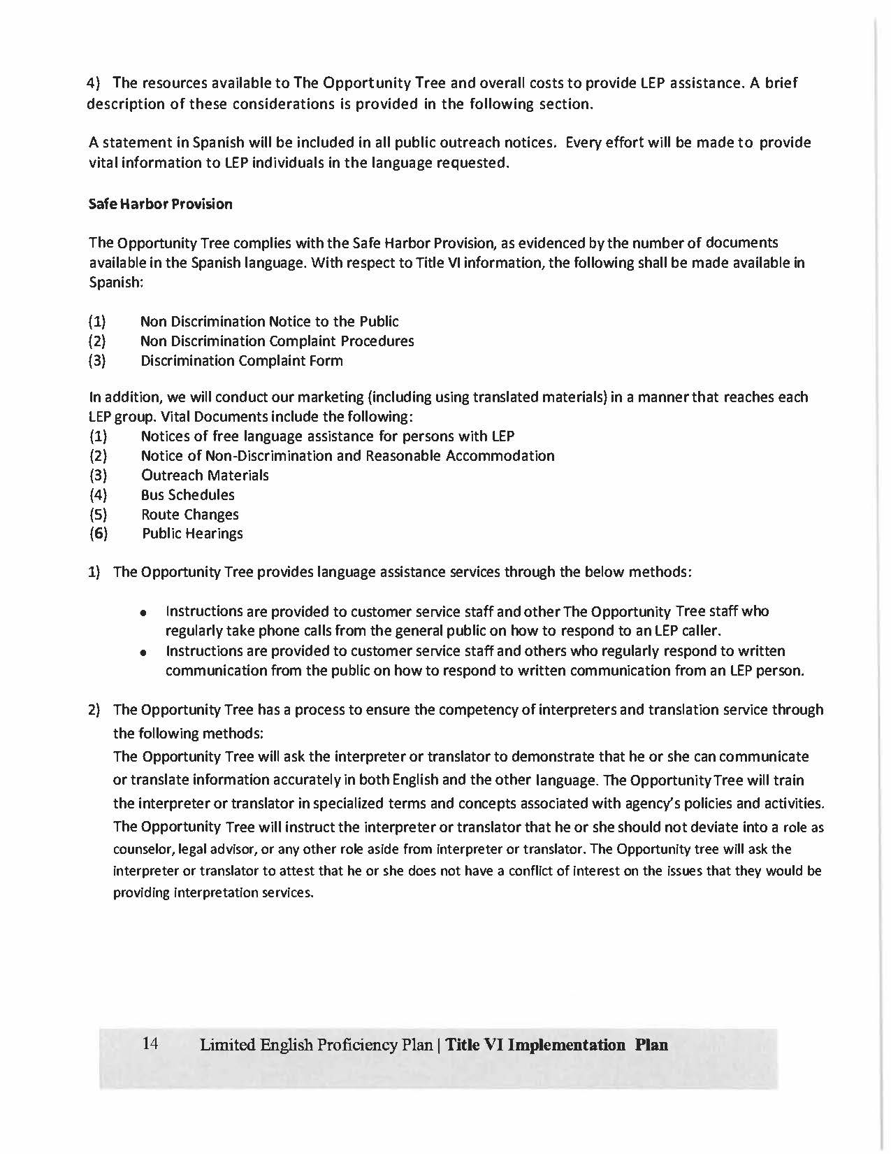The Opportunity Tree Title VI Plan Final2018-2021_Page_14